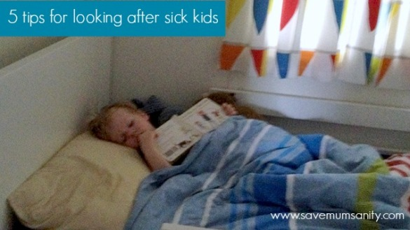 looking after sick kids